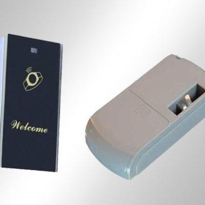 Zamki bateryjne elektroniczne RFID